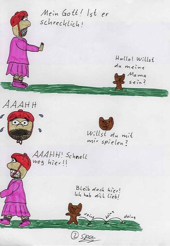Rotkäppchen und der Bär