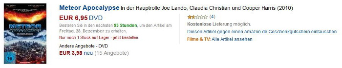 Amazon-Gestöber - #1 - Amazon Apokalpyse