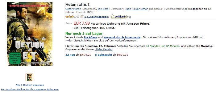 Amazon-Gestöber - #2 - Zufällig identisch
