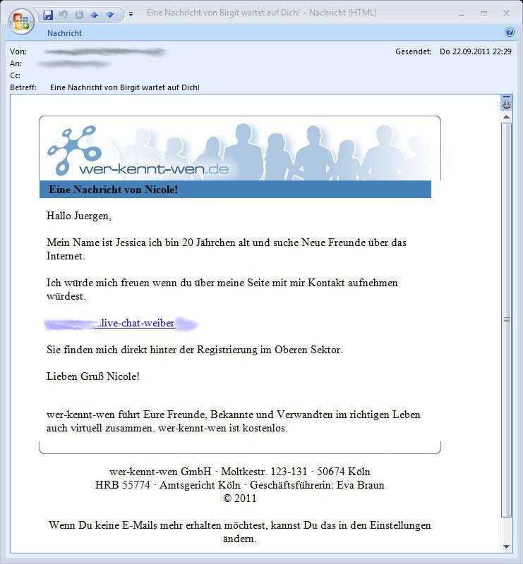 Brieffreunde - #1 - 23.09.2011