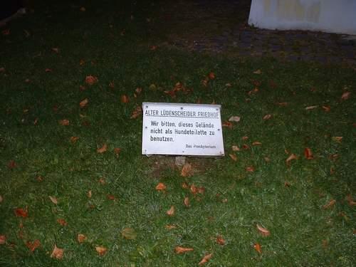 Lüdenscheid #4 - Der Friedhof ohne Gräber