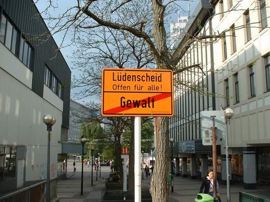 Lüdenscheid #16 - Keine Gewalt in Lüdenscheid