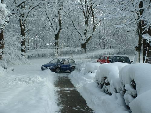 Parkplatzpannen
