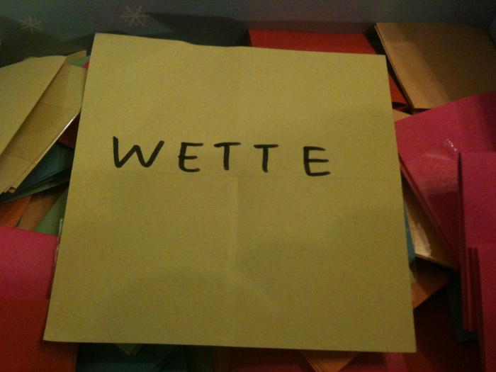 Genürsel 2014 - 04/52 - Wette