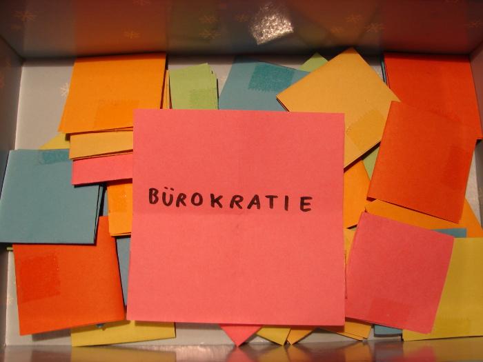 Genürsel 2014 - 15/52 - Bürokratie
