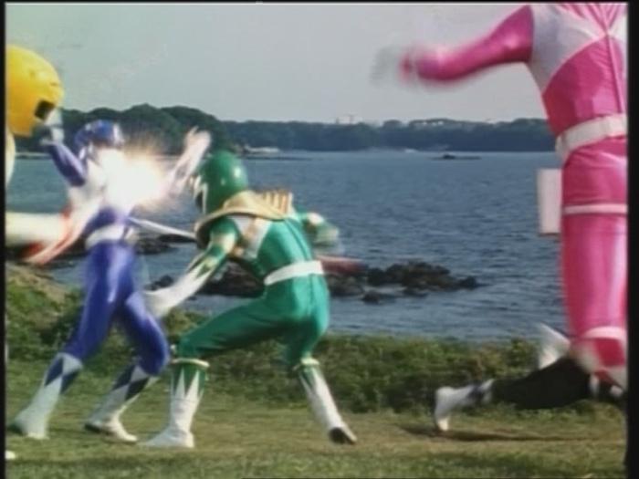Power Rangers Zone - Der grüne Ranger - Teil 2