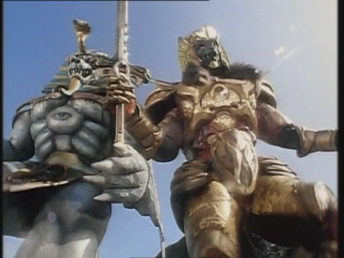 Power Rangers Monster – S01E04 – King Sphinx