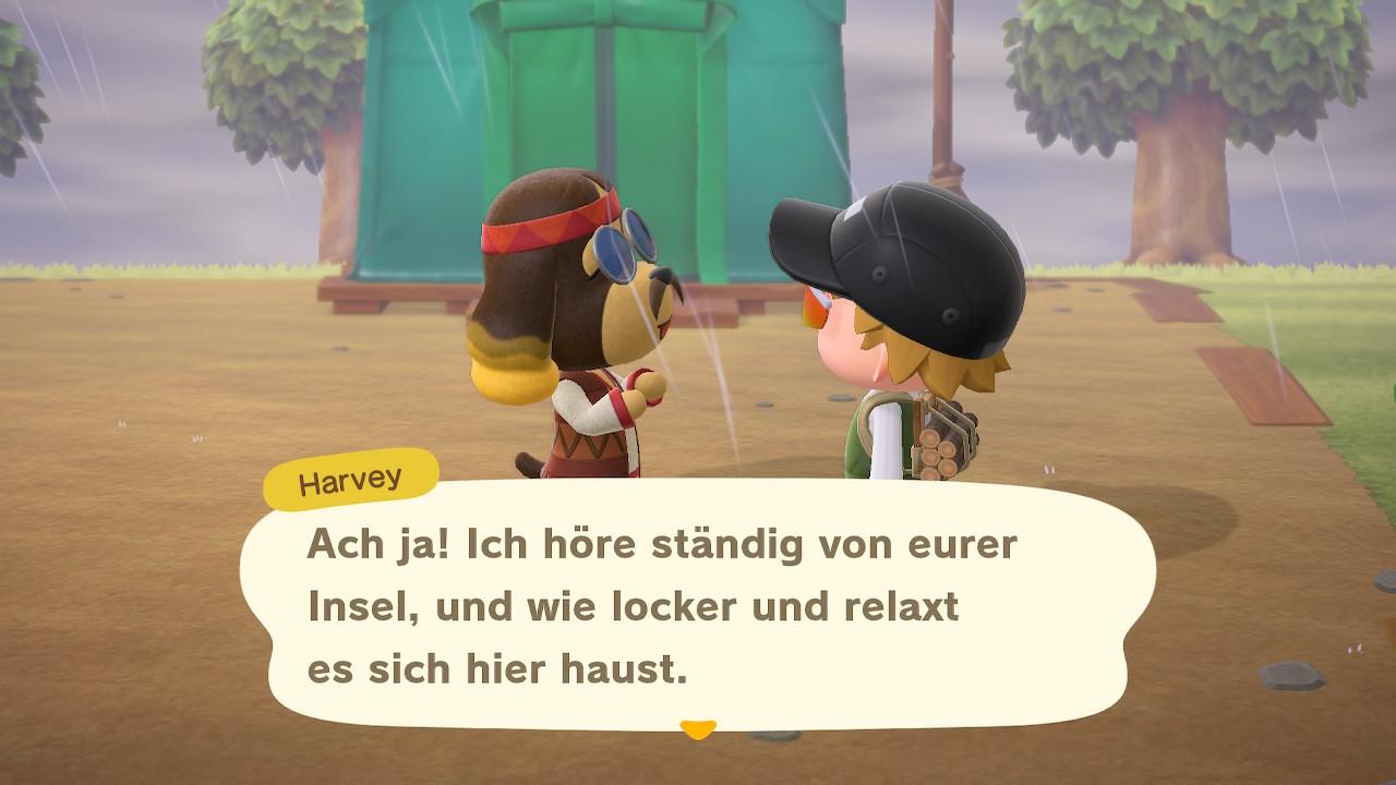 Animal Crossing - New Horizons - Gebommel - Tagebuch - Eintrag #1