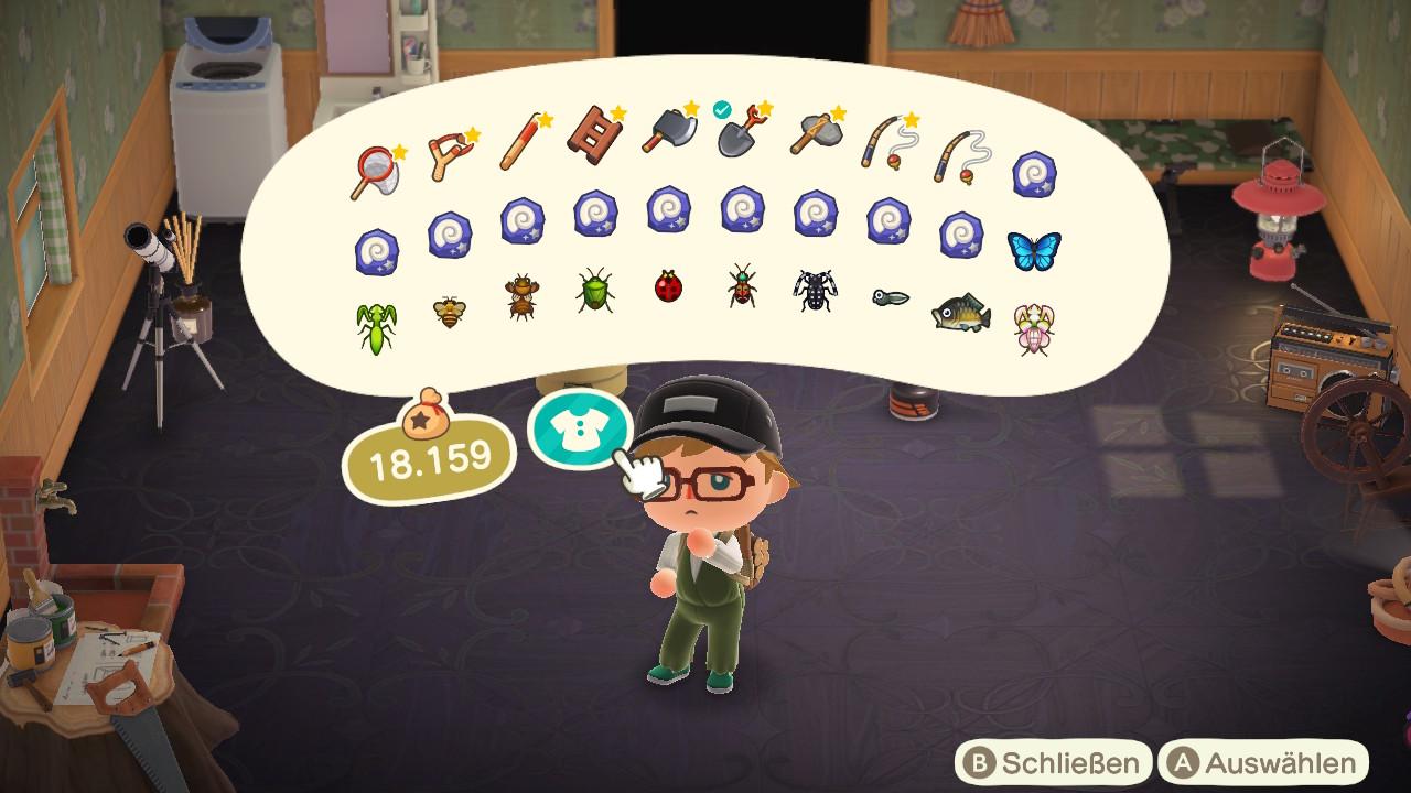 Animal Crossing - New Horizons - Gebommel - Tagebuch - Eintrag #2