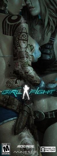 Girl Fight - Ein Nacktbild ohne Geschichte bitte. Zum Mitnehmen.