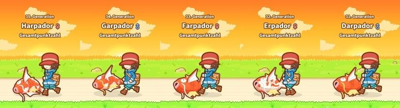 Karpador Jump - 50 Generationen später
