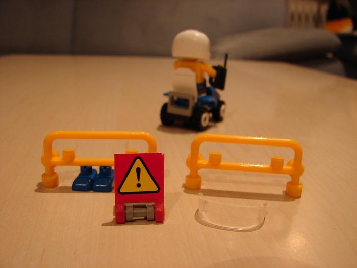 What the Mini-Fig - #2 - BanBao - Polizei
