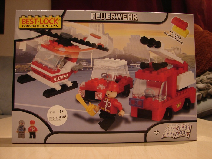 What the Mini-Fig - #3 - Best-Lock - Feuerwehr