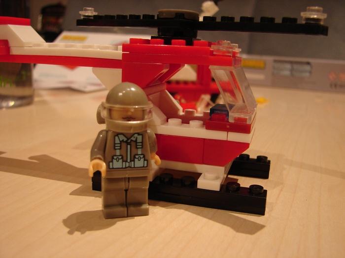 What the Mini-Fig - #3 - Best-Lock - Feuerwehr