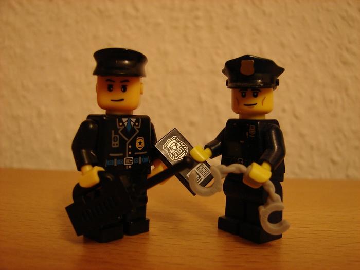 What the Mini-Fig - #5 - TEDi - Polizei
