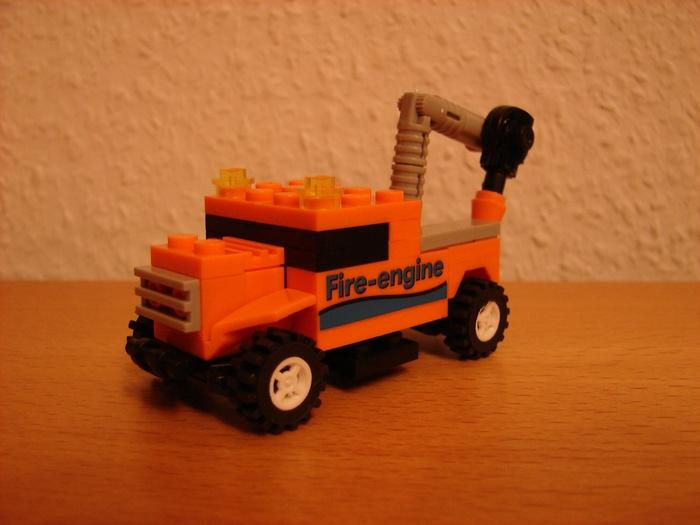 What the Mini-Fig - #6 - TEDi - Feuerwehr