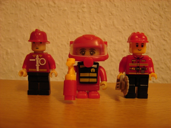 What the Mini-Fig - #6 - TEDi - Feuerwehr