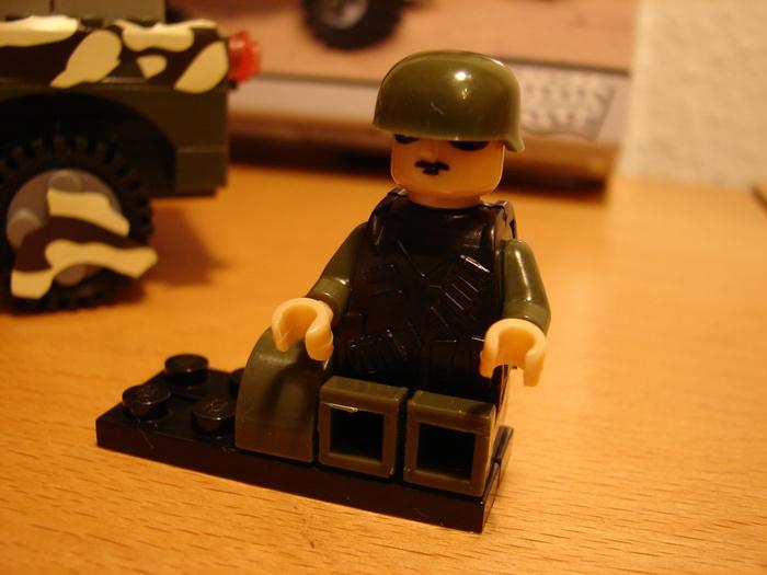 What the Mini-Fig - #11 - Best-Lock - Militär