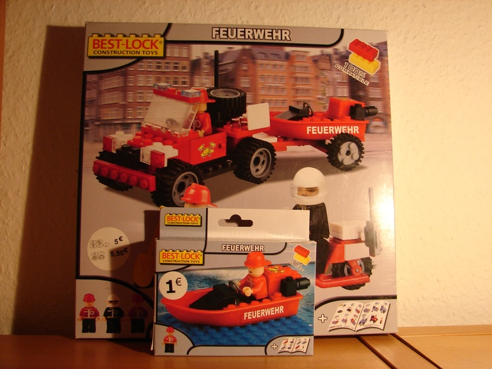 What the Mini-Fig - #12 - Best-Lock - Feuerwehr