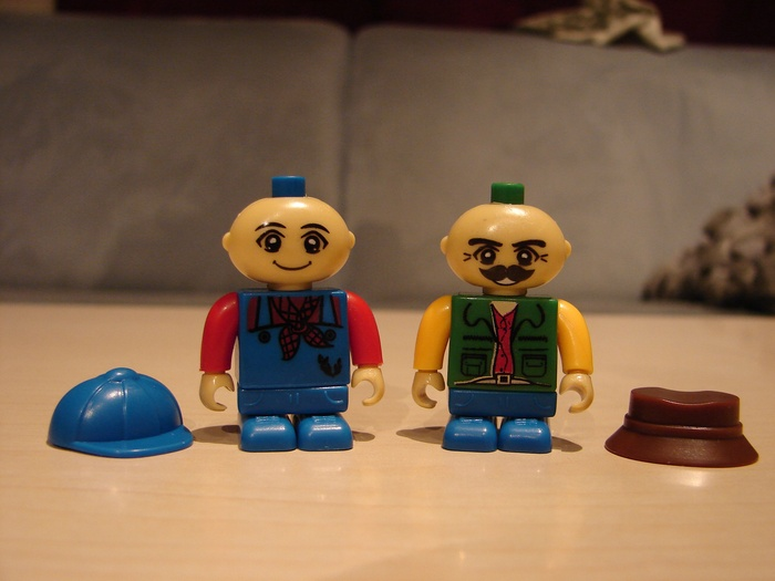 What the Mini-Fig - #15 - BanBao - Farm