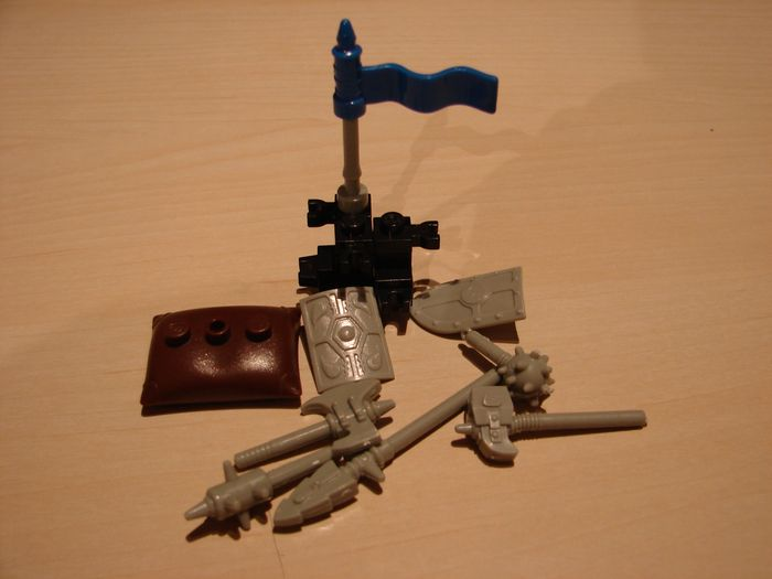 What the Mini-Fig - #17 - BanBao - Black Sword