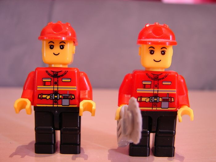 What the Mini-Fig - #21 - TEDi - Feuerwehr